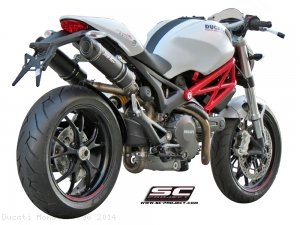 GP-Tech Exhaust by SC-Project Ducati / Monster 796 / 2014