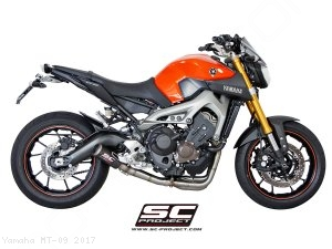 CR-T Exhaust by SC-Project Yamaha / MT-09 / 2017