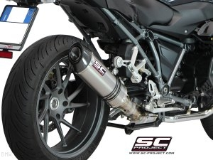 Oval Exhaust by SC-Project BMW / R1200RS / 2016