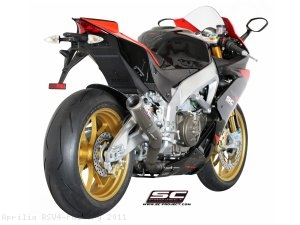 CR-T Exhaust by SC-Project Aprilia / RSV4 Factory / 2011