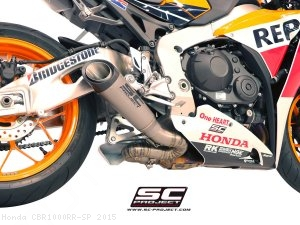 S1 Low Mount Exhaust by SC-Project Honda / CBR1000RR SP / 2015