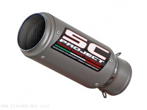 CR-T Exhaust by SC-Project BMW / S1000RR HP4 / 2013