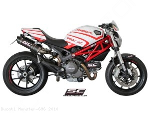 GP-Tech Exhaust by SC-Project Ducati / Monster 696 / 2010