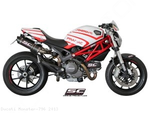 GP-Tech Exhaust by SC-Project Ducati / Monster 796 / 2013