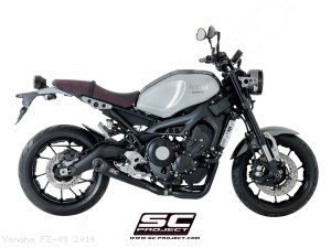 Conic Exhaust by SC-Project Yamaha / FZ-09 / 2014