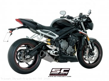 SC1-R Exhaust by SC-Project Triumph / Street Triple RS 765 / 2019