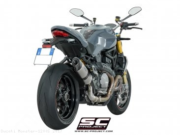 Oval Exhaust by SC-Project Ducati / Monster 1200S / 2017