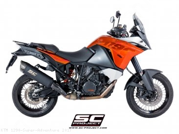 """Adventure"" Exhaust by SC-Project KTM / 1290 Super Adventure / 2017"