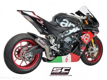 CR-T Exhaust by SC-Project Aprilia / RSV4 RF / 2016