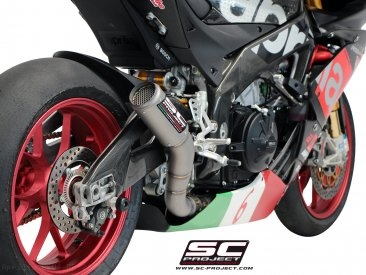 CR-T Exhaust by SC-Project Aprilia / RSV4 RR / 2015
