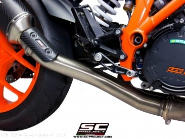 De-Cat Link Pipe by SC-Project KTM / 1290 Super Duke R / 2018