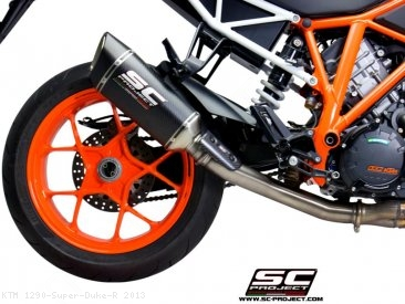 De-Cat Link Pipe by SC-Project KTM / 1290 Super Duke R / 2013