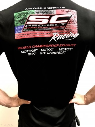 "SC-Project USA Performance DRY-FIT Tee Shirt ""Flag Edition"" Universal"