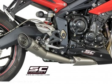 Conic Exhaust by SC-Project Triumph / Street Triple / 2016