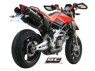 Oval Exhaust by SC-Project Aprilia / Dorsoduro 750 / 2010