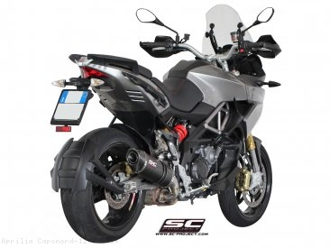 Oval Exhaust by SC-Project Aprilia / Caponord 1200 / 2014