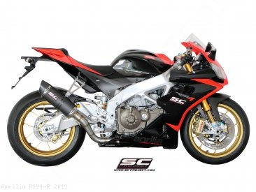 Oval Exhaust by SC-Project Aprilia / RSV4 R / 2013
