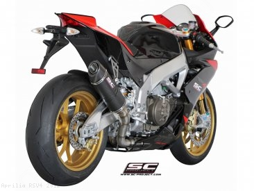 Oval Exhaust by SC-Project Aprilia / RSV4 / 2012