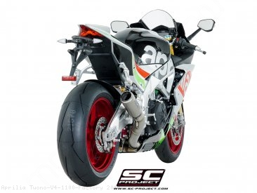 CR-T Exhaust by SC-Project Aprilia / Tuono V4 1100 Factory / 2018