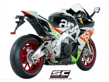 CR-T Exhaust by SC-Project Aprilia / Tuono V4 1100 RR / 2018
