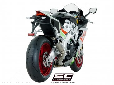 GP70-R Exhaust by SC-Project Aprilia / RSV4 RF / 2017