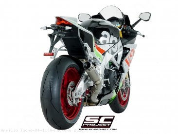GP70-R Exhaust by SC-Project Aprilia / Tuono V4 1100 Factory / 2018