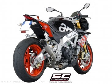 S1 Exhaust by SC-Project Aprilia / Tuono V4 1100 RR / 2015