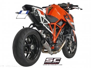 CR-T De-Cat Exhaust by SC-Project KTM / 1290 Super Duke R / 2014