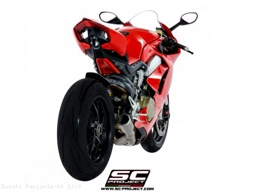 CR-T Exhaust by SC-Project Ducati / Panigale V4 / 2019