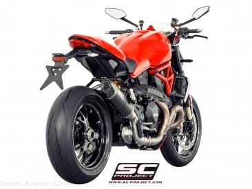 Conic Exhaust by SC-Project Ducati / Monster 1200R / 2018