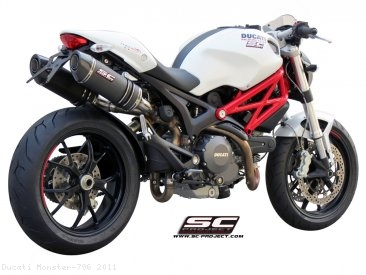 Oval Exhaust by SC-Project Ducati / Monster 796 / 2011