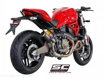 CR-T Exhaust by SC-Project Ducati / Monster 821 / 2014