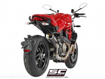 CR-T Exhaust by SC-Project Ducati / Monster 1200S / 2015