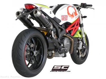 GP-EVO Exhaust by SC-Project Ducati / Monster 696 / 2009