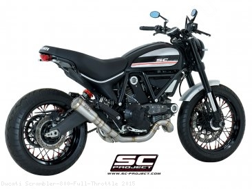 Conic Exhaust by SC-Project Ducati / Scrambler 800 Full Throttle / 2015