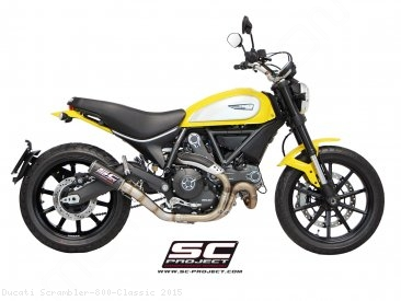 CR-T Exhaust by SC-Project Ducati / Scrambler 800 Classic / 2015