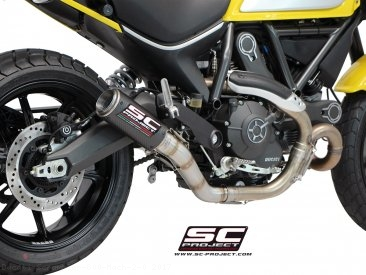 CR-T Exhaust by SC-Project Ducati / Scrambler 800 Mach 2.0 / 2017