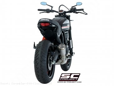 Conic Exhaust by SC-Project Ducati / Scrambler 800 Classic / 2015