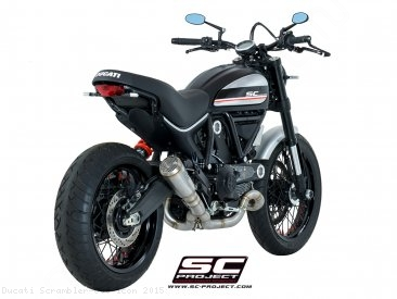 Conic Exhaust by SC-Project Ducati / Scrambler 800 Icon / 2015