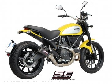 CR-T Exhaust by SC-Project Ducati / Scrambler 800 Full Throttle / 2015