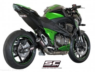 CR-T Exhaust by SC-Project Kawasaki / Z800 / 2015