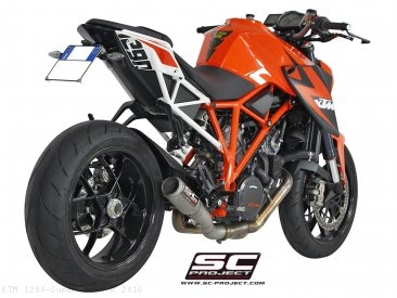 CR-T De-Cat Exhaust by SC-Project KTM / 1290 Super Duke R / 2016