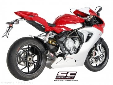 CR-T Exhaust by SC-Project MV Agusta / F3 675 / 2011