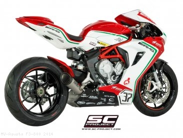 S1 Exhaust by SC-Project MV Agusta / F3 800 / 2014