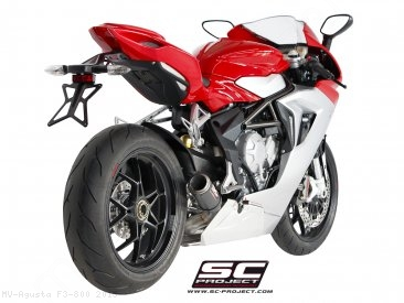 CR-T Exhaust by SC-Project MV Agusta / F3 800 / 2015