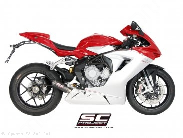 CR-T Exhaust by SC-Project MV Agusta / F3 800 / 2014