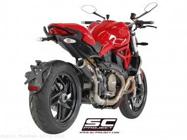 CR-T Exhaust by SC-Project Ducati / Monster 1200S / 2016