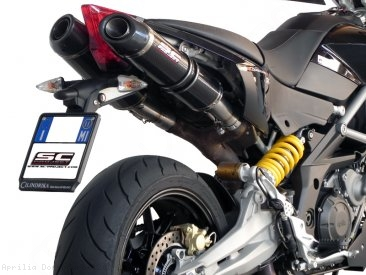Oval Exhaust by SC-Project Aprilia / Dorsoduro 1200 / 2011