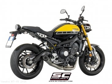 Conic Exhaust by SC-Project Yamaha / MT-09 / 2015