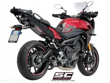 Conic Exhaust by SC-Project Yamaha / FZ-09 / 2013